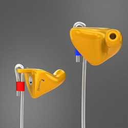 Filtered industrial ear plugs