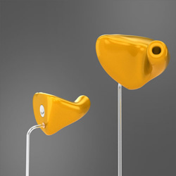 Vented industrial ear plugs