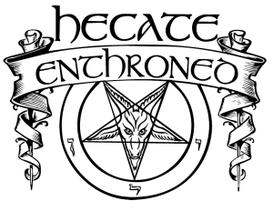 Hecate Enthroned Logo PNG GH
